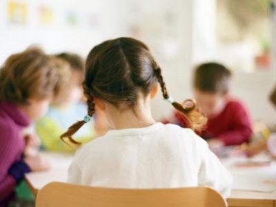 Förskola (genrebild).
