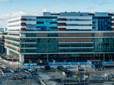 Nya Karolinska i Solna.