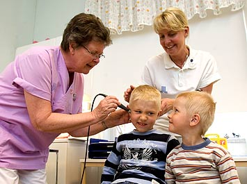 Barnmottagningen Norrtälje sjukhus