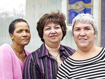 Utrikesfödda kvinnor