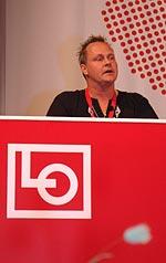 LO-kongress Dan Gabrielsson