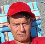Christopher Westin är strejkvakt vid Söderhallarna.