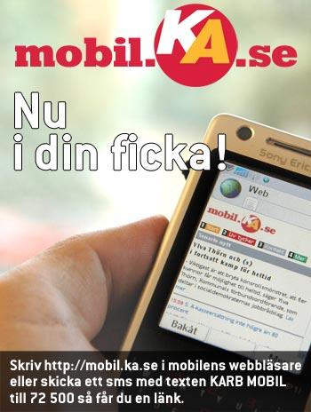 KA i mobilen