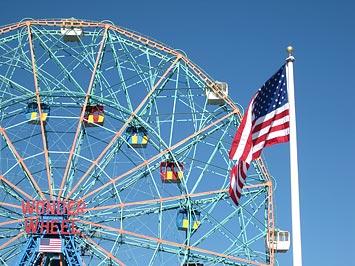 Wonder Wheel, Coney island, NY.
