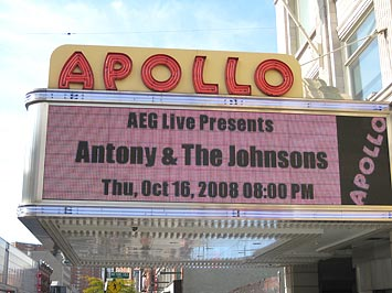 Apollo Theatre, Harlem, NYC.
