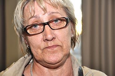 Ritva Johansson, kommunalare i Haparanda, är irriterad på Sven-Erik Bucht.