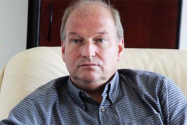 Juris Zarinovs, kirurg och en av fyra i sjukhusets styrelse.