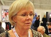 Wanja Lundby-Wedin, LO:s ordförande, på S-kongress 2009.