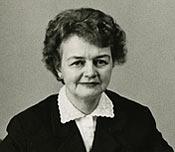 Elin Mossberg, första kvinnliga ombudmannen.