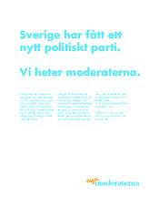 annons nya moderaterna