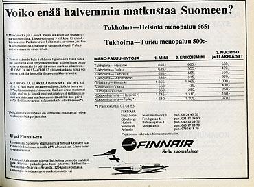 annons på finska
