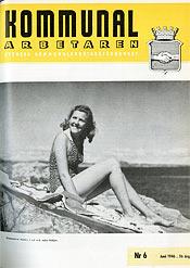 KA omslag nr 6 1946