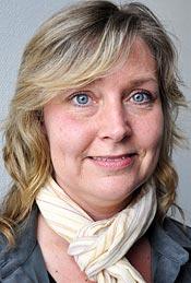 Carolin Bergfeldt, undersköterska i Norrköping.