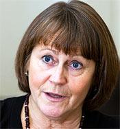 Birgitta Molin-Mellander, sjukhusdirektör Skövde.