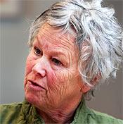 Catarina Wadegård, skyddsombud Kommunal.