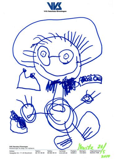 Movitz teckning