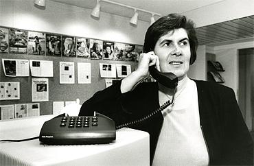 Telefonväkteri på Kommunalarbetaren.