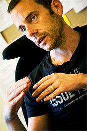 Andreas Eriksson, ordförande Kommunal i Vindeln.