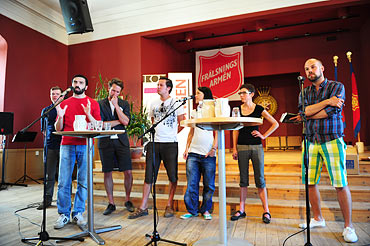 Tvärdrags seminarie på fredagen i Almedalen 2010.