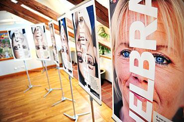 Affischer från LO:s valkampanj 2010.