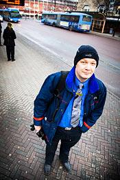 Patrik Hochum är bussförare i Umeå. Han och kollegorna är överens om att restiden till och från depån borde räknas som arbetstid.