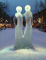 Ispar i Umeå.