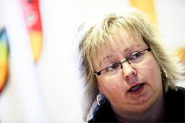 Kommunals sektionsordförande Lena Svensson berättar att det har varit många diskussioner om tobakspolicyn i Mönsterås.