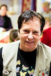 Lokalvårdaren Yvonne Svärd är också nöjd med systemet som det är idag.