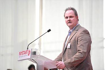 Dan Gabrielsson, kommunalare och ombud på S-kongressen.