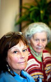 Gunilla Bergman, undersköterska på Judiska hemmet.