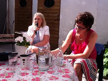 Ingela Gardner Sundström, SKL, och Annelie Nordström, Kommunal.