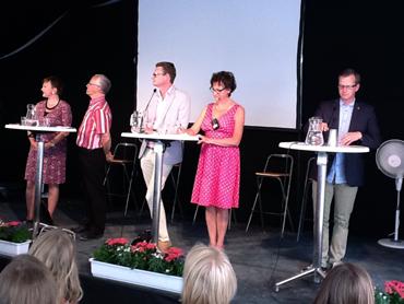 Debatt om den nordiska välfärdsmodellen i Almedalen.