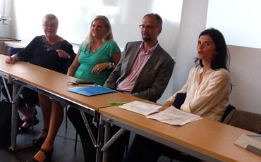 Diskussion om statsvetare i Almedalen.