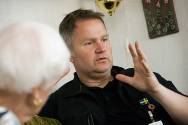 Skönsmons hemtjänst. Håkan Nilsson.