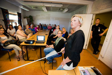 Skönsmons hemtjänst. Ulrika Andersson.
