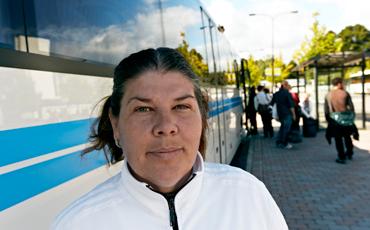 Kristina Stefan, sektionsordförande.