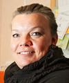 Katarina Törmä, vice sektionsordförande Kommunal i Kiruna.