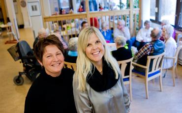 Marianne Birgersson och Susanne Janhager.