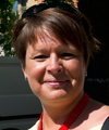 Marie Heikkinen, ombud kongressen 2013.