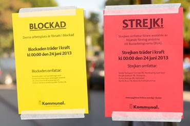 Ungefär 75 spårvagnsförare och vagnhallsarbetare har tagits ut i strejk på Veolia i Norrköping.