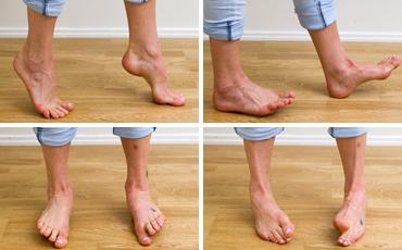 Fötter.
