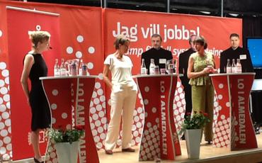 Annelie Nordström och Gudrun Schyman.
