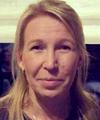 Carina Lind, undersköterska och kommunalare på äldreboendet Rallarrosen i Täby.