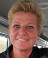 Cecilia Karlsson, parkarbetare i Laholms kommun.