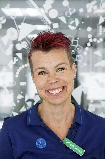 Lotta Svantesson.