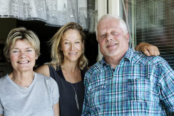 Agneta Sparre, Mette Aakerholm Gardell och Thomas Björk.