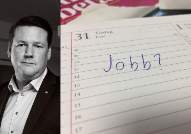 Tobias Baudin vil ha bort osäkra anställningar.