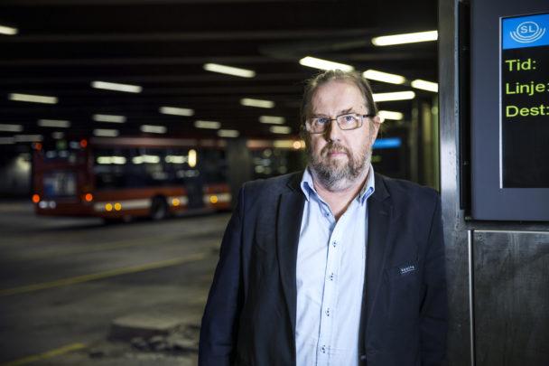 Robert Alf, bussförare.