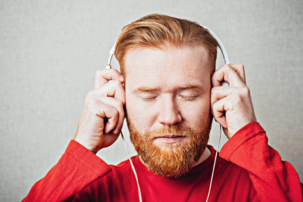 Lyssna bort stressen.