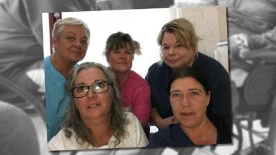 Debattörerna är undersköterskor på en korttidsenhet i Gävle.